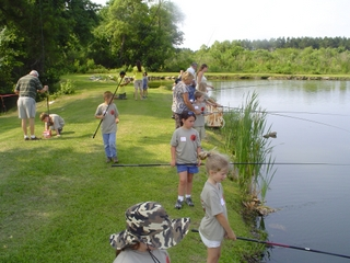Nc wildlife action what 39 s in it for me for Fishing summer camp